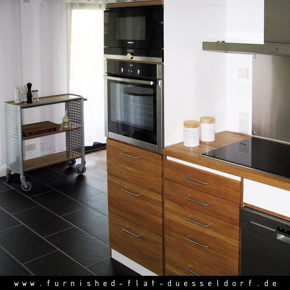 Furnished apartment in Duesseldorf - Kitchen
