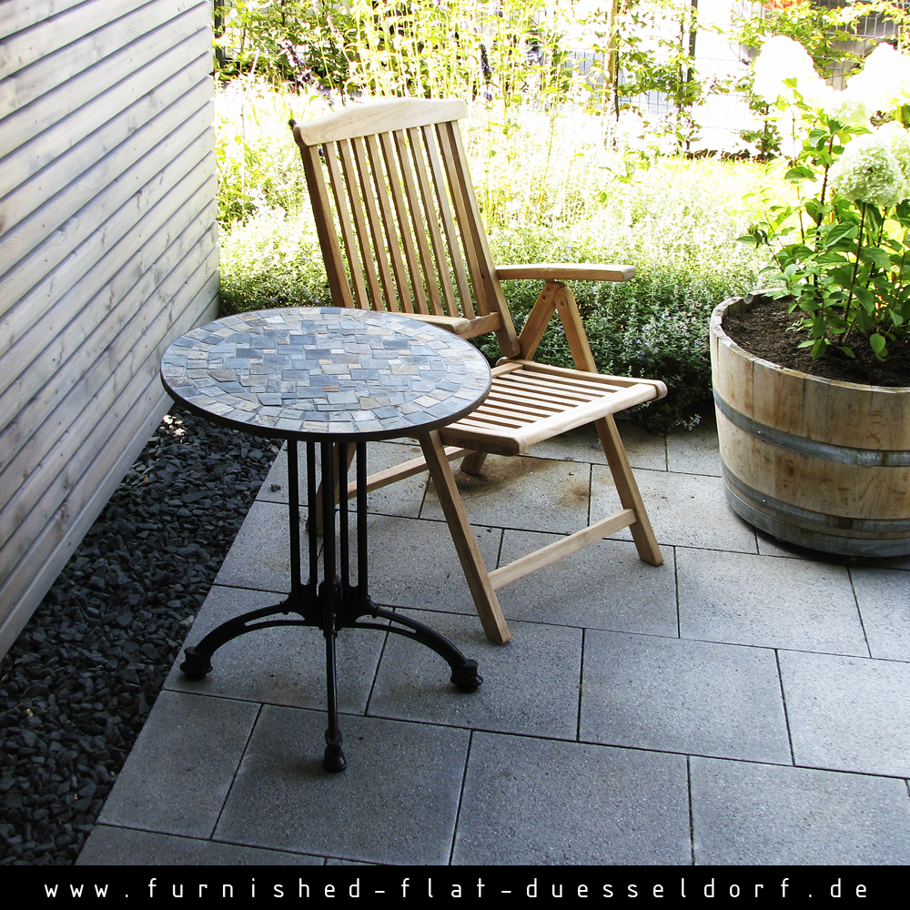 Furnished apartment in Duesseldorf - Terrace