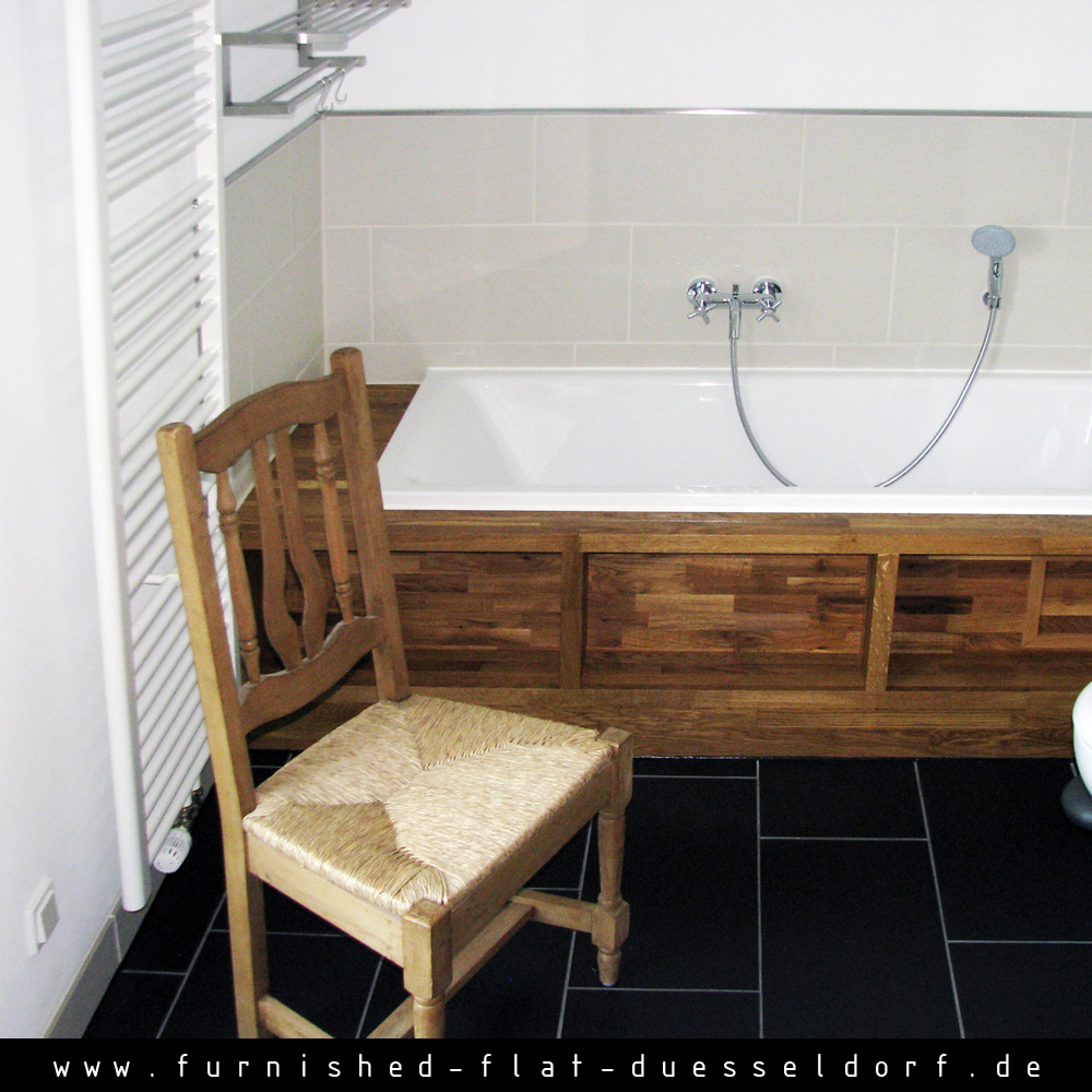 Furnished apartment in Duesseldorf - Bathroom